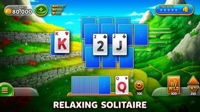 Solitaire Grand Harvest iphone screenshot 1
