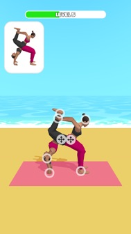 Couples Yoga iphone screenshot 2