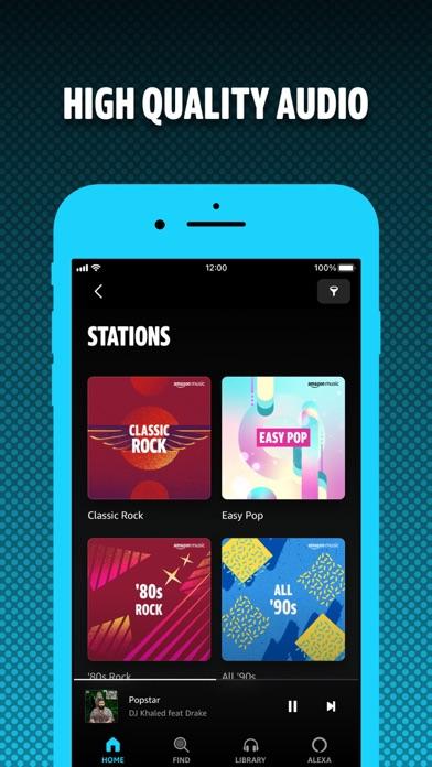 Amazon Music: Songs & Podcasts iphone screenshot 2