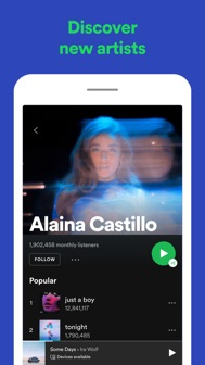 Spotify: Discover new music iphone screenshot 4