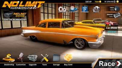 No Limit Drag Racing 2 iphone screenshot 1