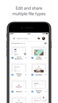 Google Docs: Sync, Edit, Share iphone screenshot 3