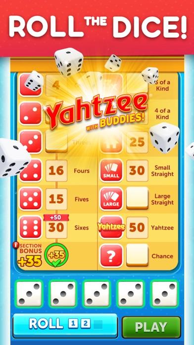 Yahtzee® with Buddies Dice iphone screenshot 1