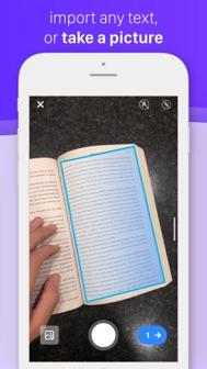 Speechify - Audio Text Reader iphone screenshot 4