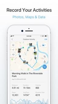 Pacer Pedometer & Step Tracker iphone screenshot 2