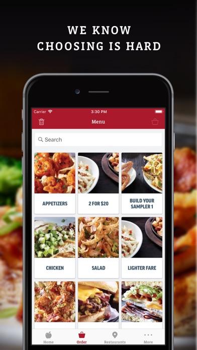 Applebee's iphone screenshot 3