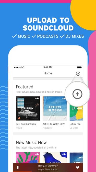 SoundCloud - Music & Audio iphone screenshot 1
