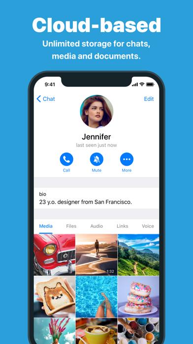 How to cancel & delete Telegram Messenger 3