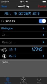 Log-Book iphone screenshot 2