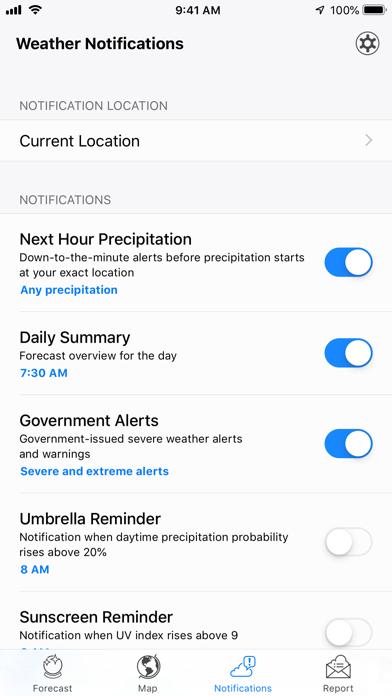 How to cancel & delete Dark Sky Weather 1