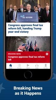 Fox News: Live Breaking News iphone screenshot 2