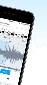 AudioStretch iphone screenshot 2