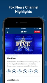 Fox News: Live Breaking News iphone screenshot 4