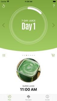 Jason Vale's 7-Day Juice Diet iphone screenshot 1