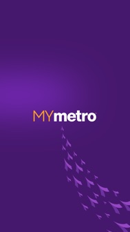 MyMetro iphone screenshot 1