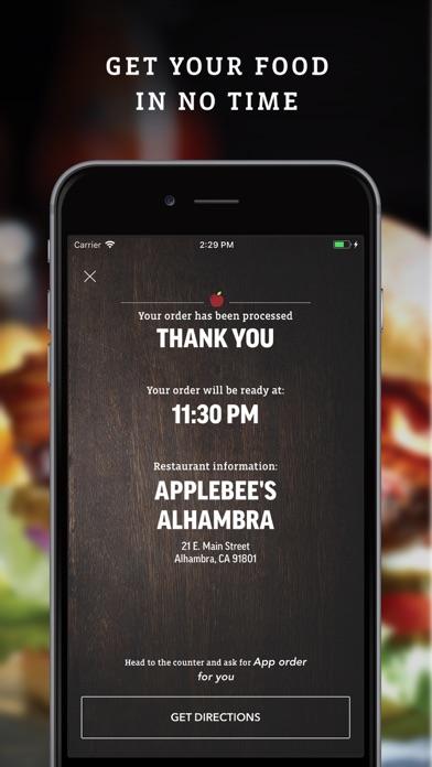 Applebee's iphone screenshot 4