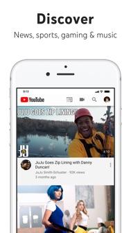 YouTube: Watch, Listen, Stream iphone screenshot 2