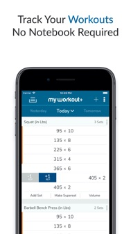 My Workout+ iphone screenshot 1