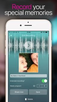Hear My Baby Heartbeat App iphone screenshot 3