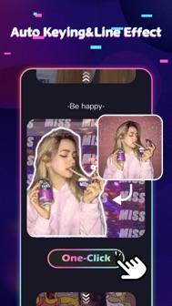 Tempo - Music Video Maker iphone screenshot 2