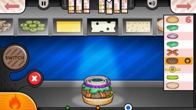 Papa's Burgeria To Go! iphone screenshot 4