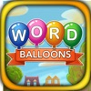 Word Balloons Word Search Game delete, cancel