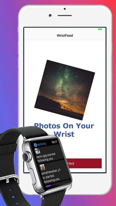 How to cancel & delete WristFeed for Instagram 2