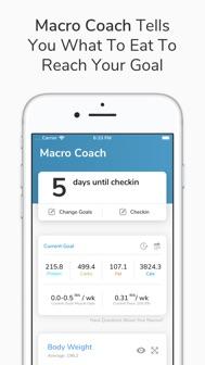 My Macros+ | Diet & Calories iphone screenshot 3
