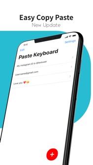 Paste Keyboard iphone screenshot 1
