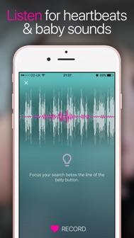 Hear My Baby Heartbeat App iphone screenshot 2
