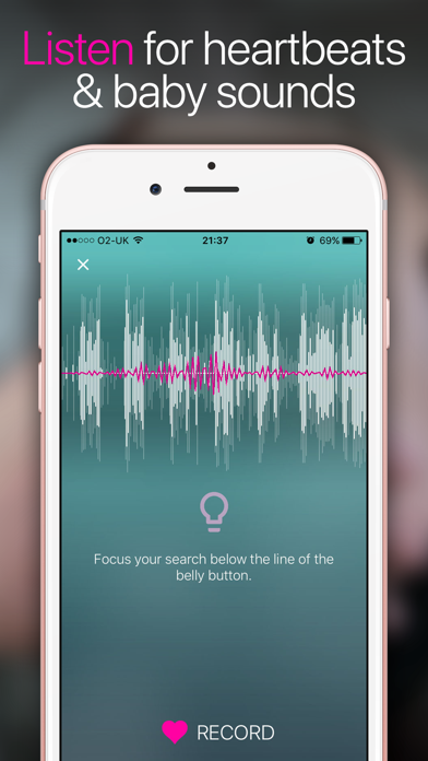 How to cancel & delete Hear My Baby Heartbeat App 1