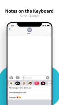 Paste Keyboard iphone screenshot 4