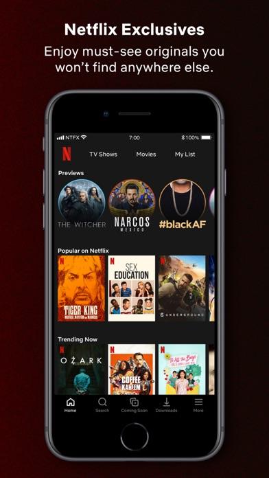 Netflix iphone screenshot 2