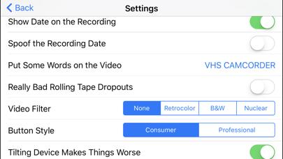 How to cancel & delete Rarevision VHS - Retro 80s Cam 0