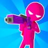 Paintman 3D - Stickman shooter delete, cancel