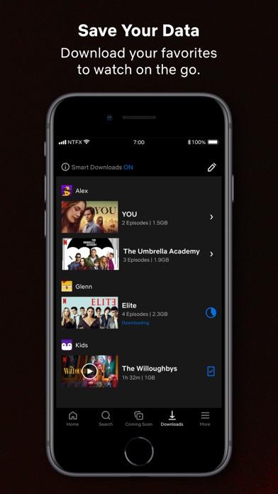 Netflix iphone screenshot 3