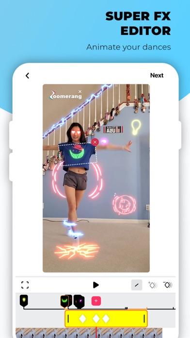 Zoomerang - Music Video Editor iphone screenshot 4