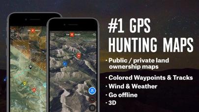 OnX Hunt: #1 GPS Hunting Map iphone screenshot 1