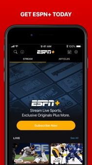 ESPN: Live Sports & Scores iphone screenshot 4