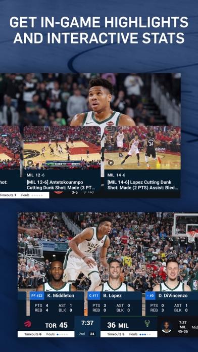 NBA: Live Games & Scores iphone screenshot 4