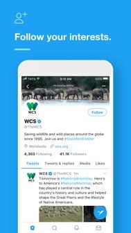 Twitter iphone screenshot 2