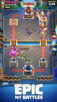 Clash Royale iphone screenshot 1