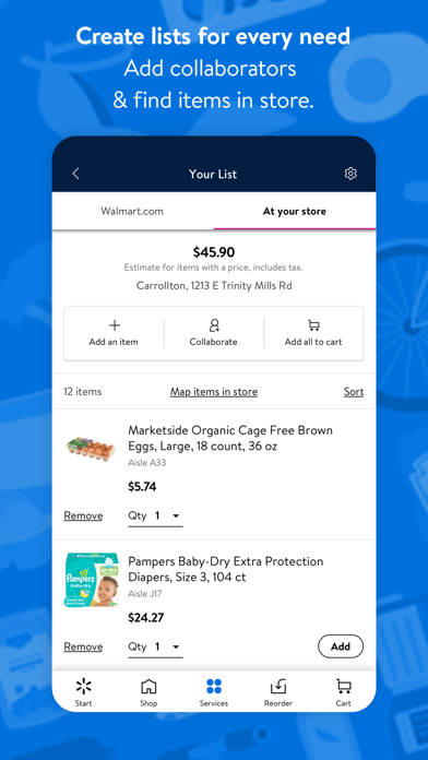 How to cancel & delete Walmart - Shopping & Grocery 0