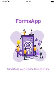 FormsApp : Manage your forms iphone screenshot 1