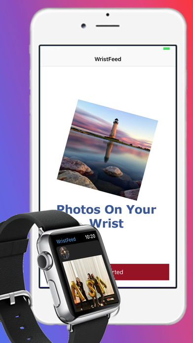 How to cancel & delete WristFeed for Instagram 0