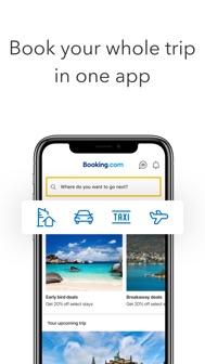 Booking.com: Hotels & Travel iphone screenshot 1
