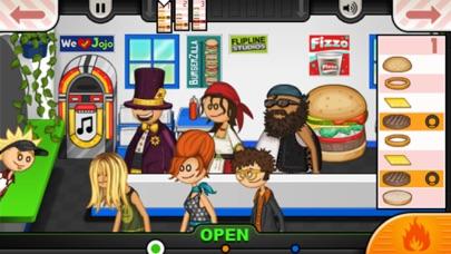 Papa's Burgeria To Go! iphone screenshot 2