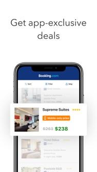 Booking.com: Hotels & Travel iphone screenshot 3
