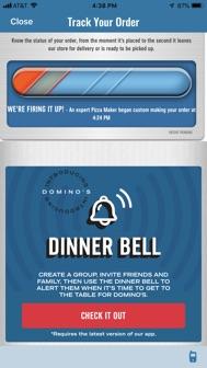 Domino's Pizza USA iphone screenshot 4
