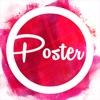 Cancel Poster Flyer Maker Icon Design